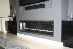 Brunswick Entertainment Feature gas Fireplace