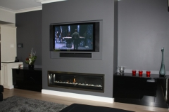 Landscape 1600 gas fireplace Melbourne