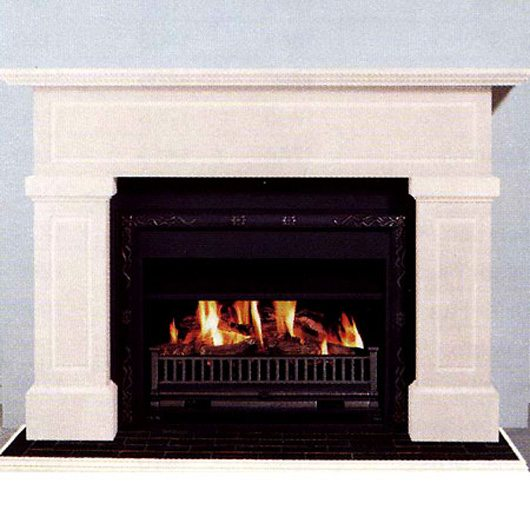 Buy A Real Flame Friedrich Mantelpiece Fireplace In Melbourne