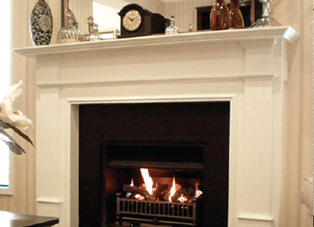 Buy a real flame montigo windsor boxed mantelpiece fireplace in melbourne - Mantelpieces fireplaces ...