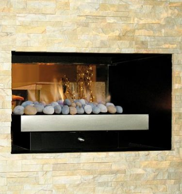Real Flame Double Vision Gas Log Fire