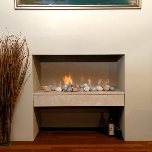 The Gas Log Fire Company sell Simplicity fireplaces and a range of other Real Flame fireplaces at their Melbourne showroom.