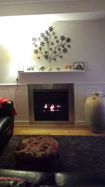 gas log fire melbourne