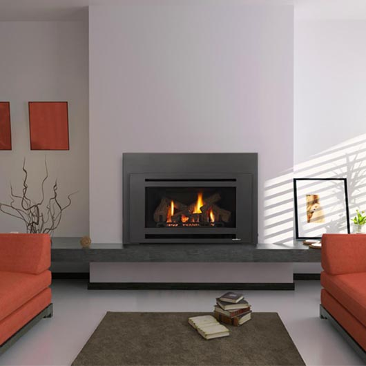 Buy a Heat & Glo Supreme I-30 Gas Log Fire Fireplace in ...