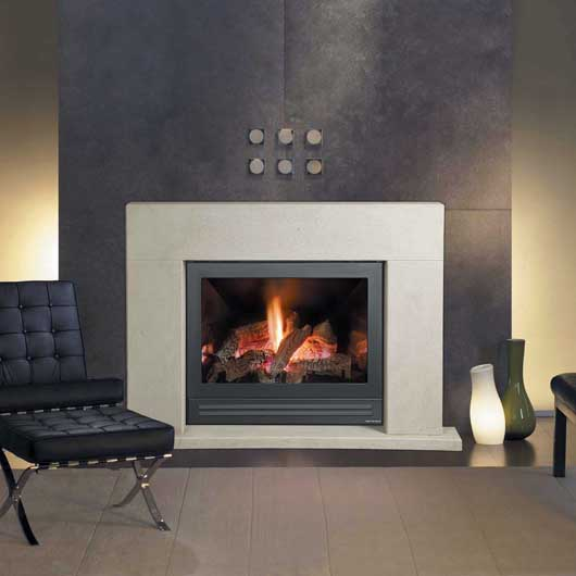 Buy A Heat Glo 350 TRSI Gas Log Fire Fireplace In Melbourne