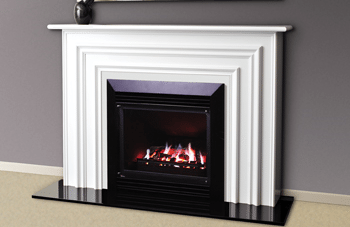Real Flame Bouvier Mantelpiece