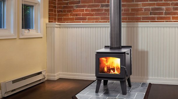 Buy A Regency Narrabri Small Wood Freestanding Fireplace In Melbourne