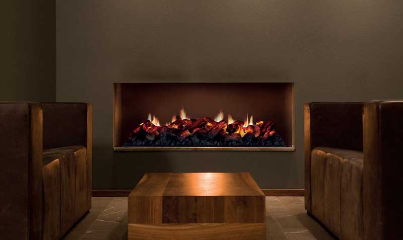 Real Flame gas log fireplace Melbourne