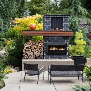 Real Flame Fireplaces Exuro -The Ultimate In Outdoor Heating