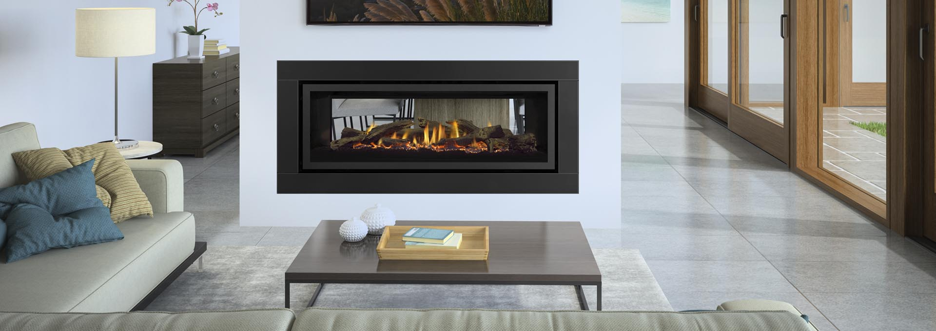 Regency Gf1500lst Gas Fireplace At Gas Log Fires Melbourne