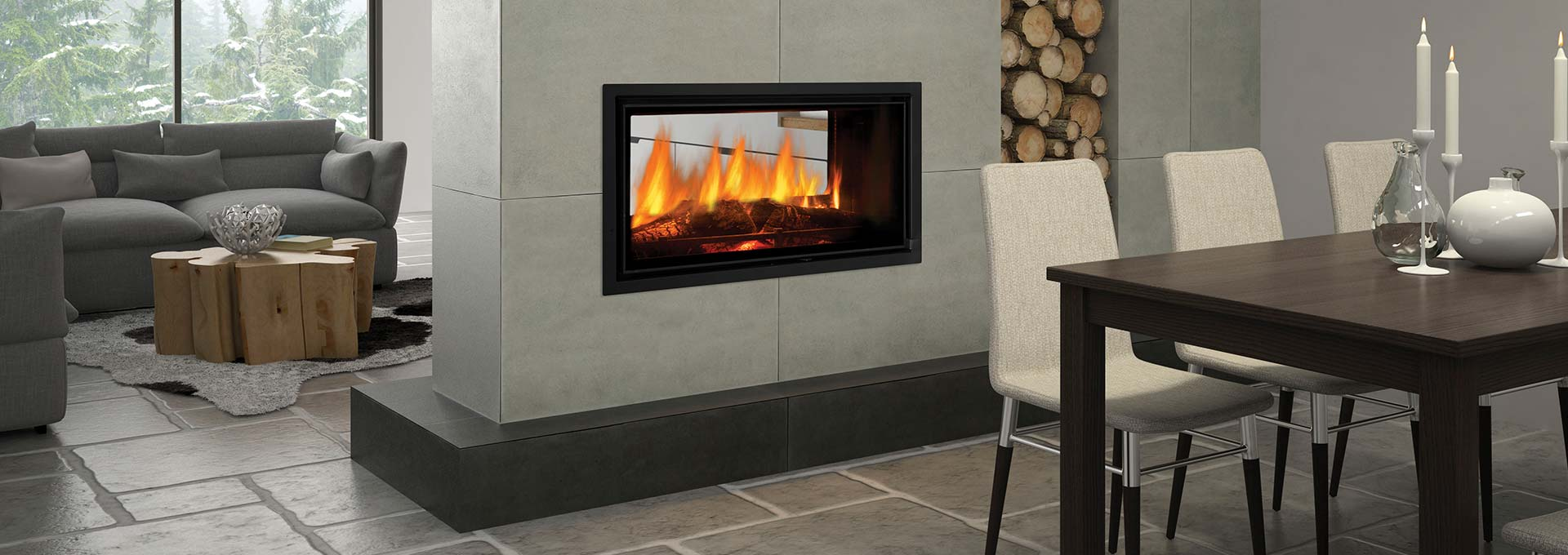 Buy The Regency Mansfield Wood Fireplace At Gas Log Fires