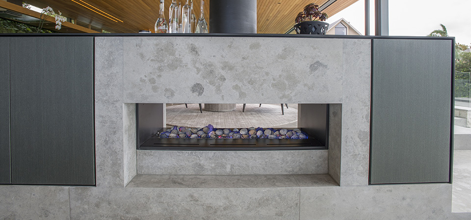 Buy A Horizon Low Line Double Sided Fireplace In Melbourne