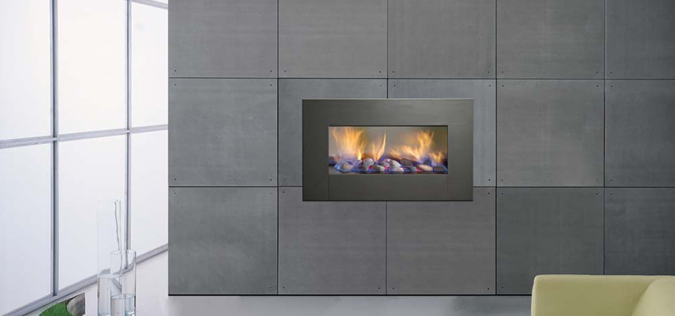 Horizon Low Line Inbuilt Fire