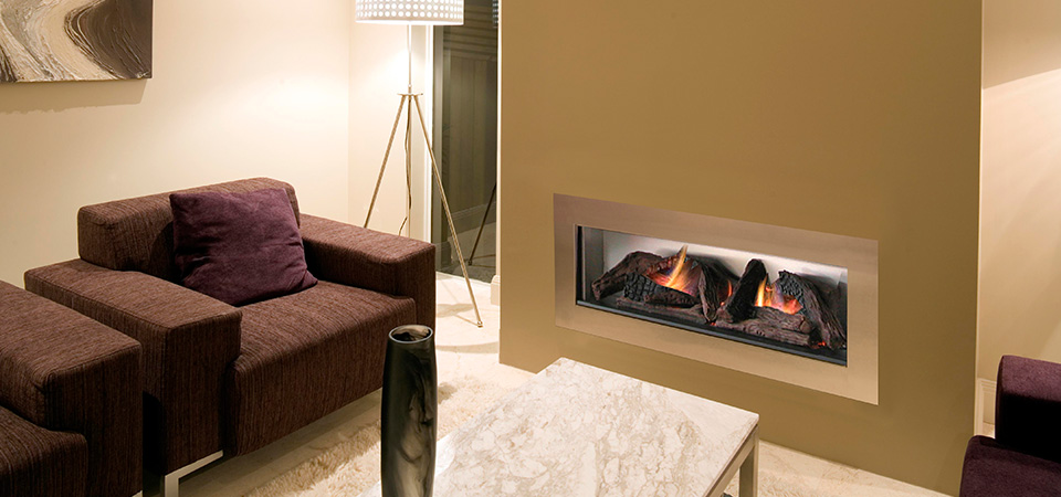 Horizon Low Line Inbuilt Fireplace