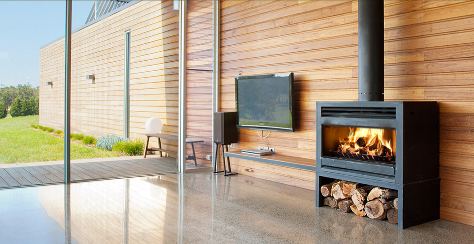 Fireplace Freestanding Melbourne: Buy Heatmaster Open Wood Fireplaces In Melbourne