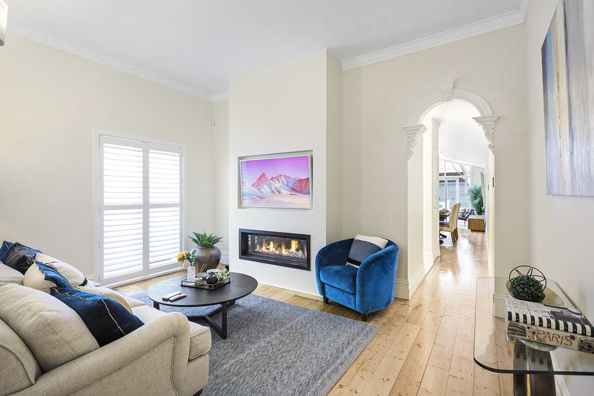 Real Flame Element 1200 Fireplace Melbourne
