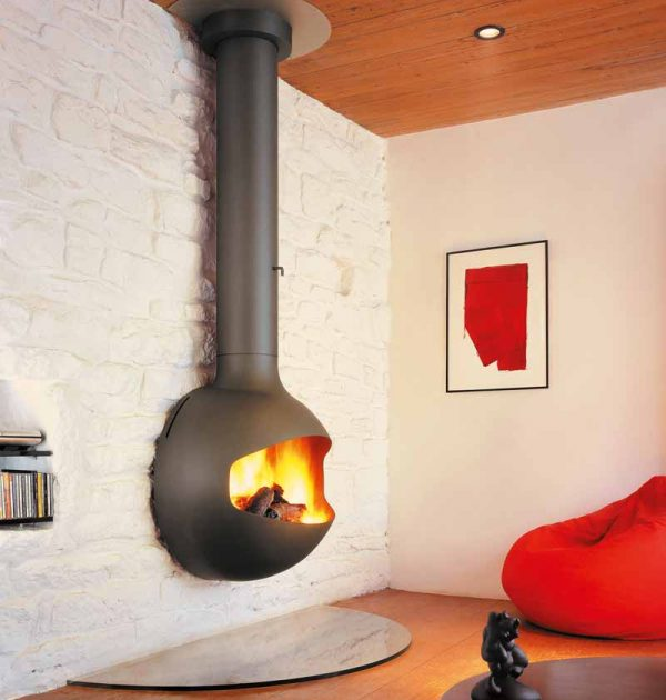 EmiFocus Wood Fire Place