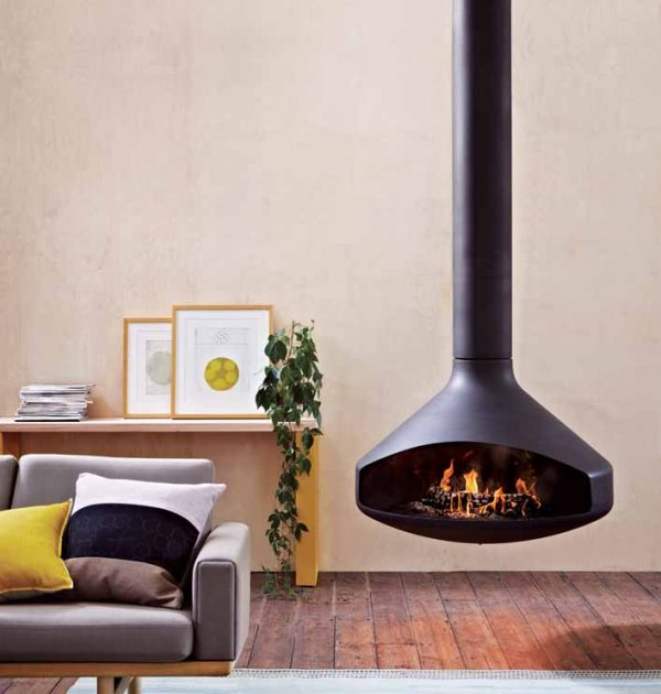 Ergofocus Wood Fire Place