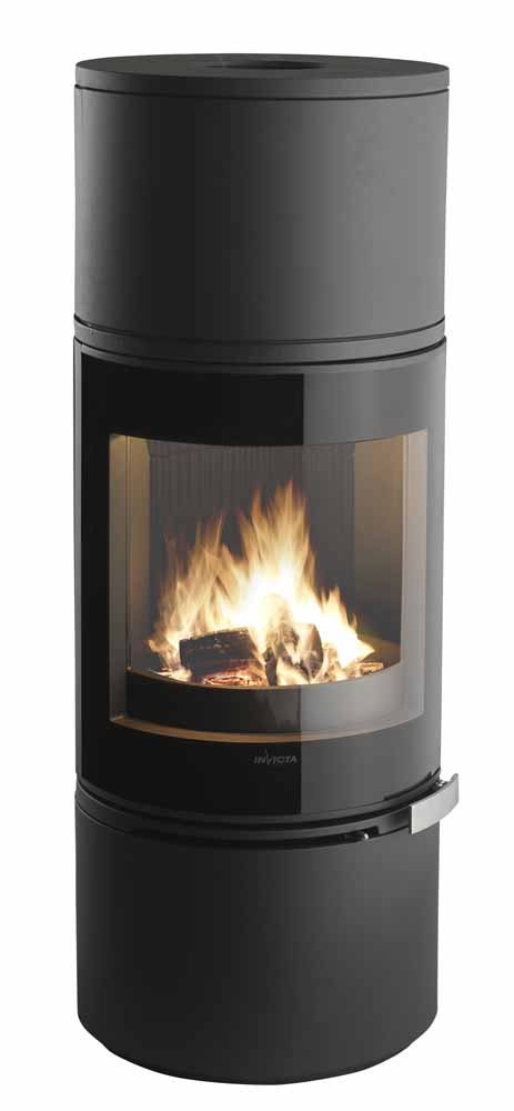 Invicta Aclor Wood Burning Fire Places