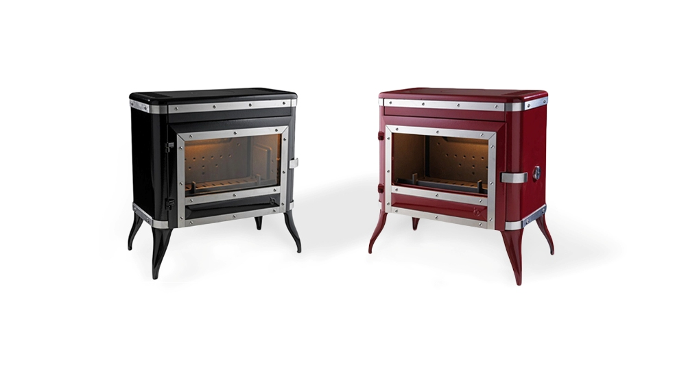 Invicta Tennessee Wood Burning Fire Place