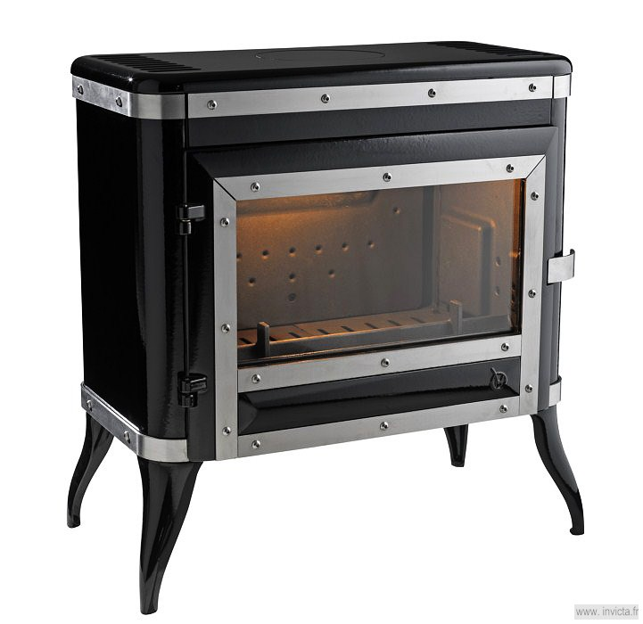 Invicta Tennessee Wood Burning Fireplaces