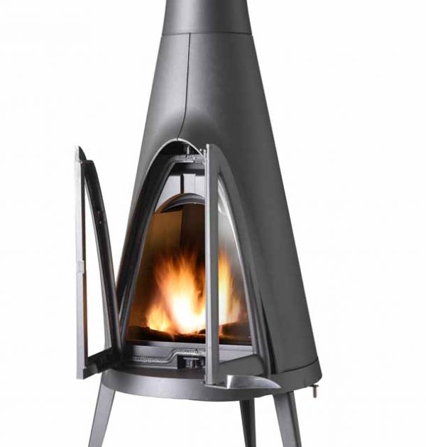 Invicta Tipi Wood Burning Fireplace