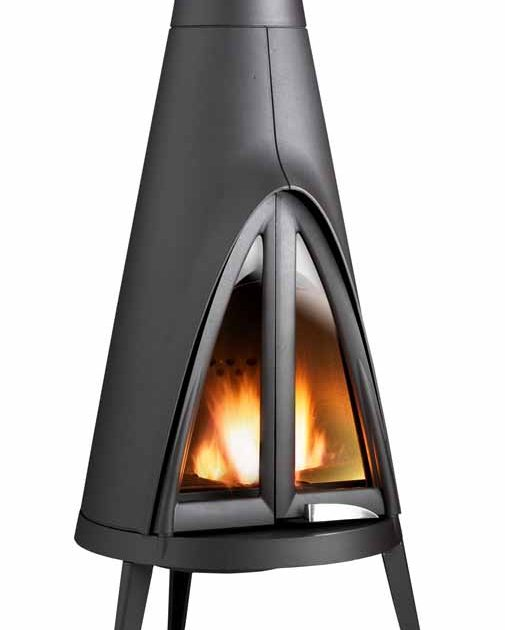 Invicta Tipi Wood Fireplace