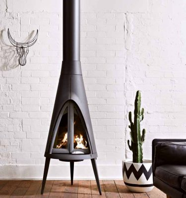 Invicta Tipi Wood Fireplaces