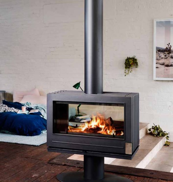 Nelson Fire Place by Invicta