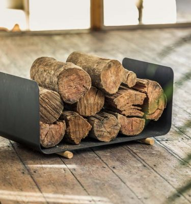 Oblica Skate Wood Fire Storage