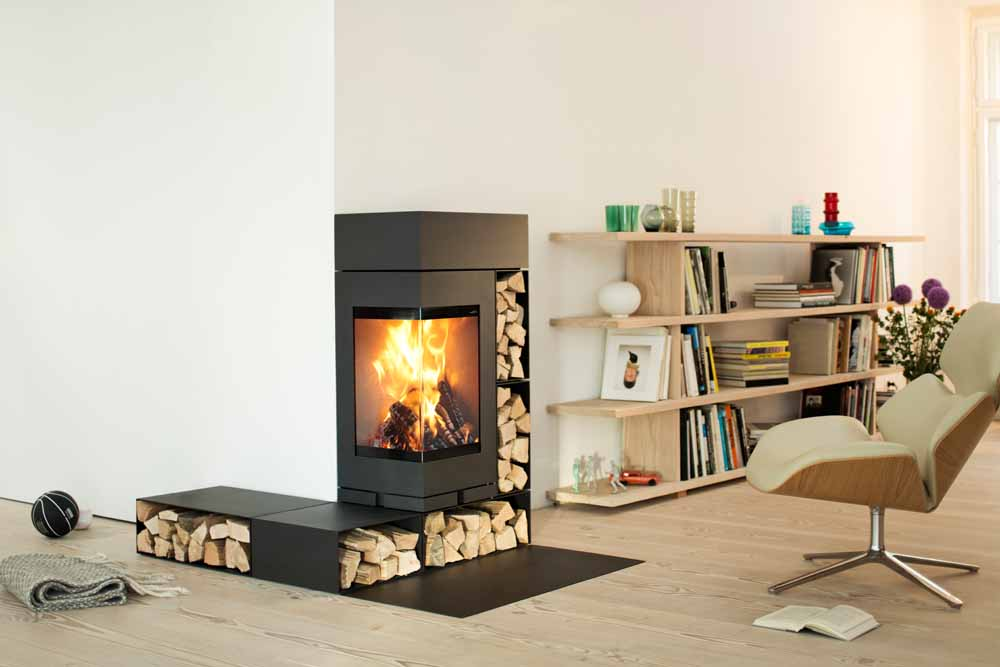 Skantherm Elements 400 Corner Fireplaces