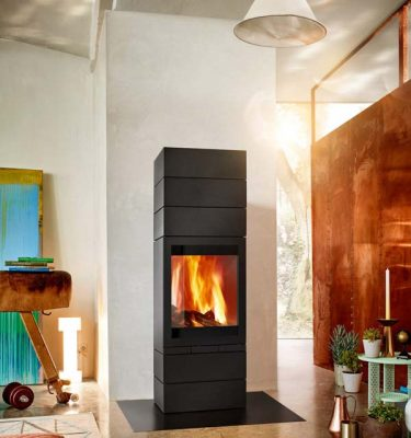 Skantherm Elements 600 Front Wood Fireplace