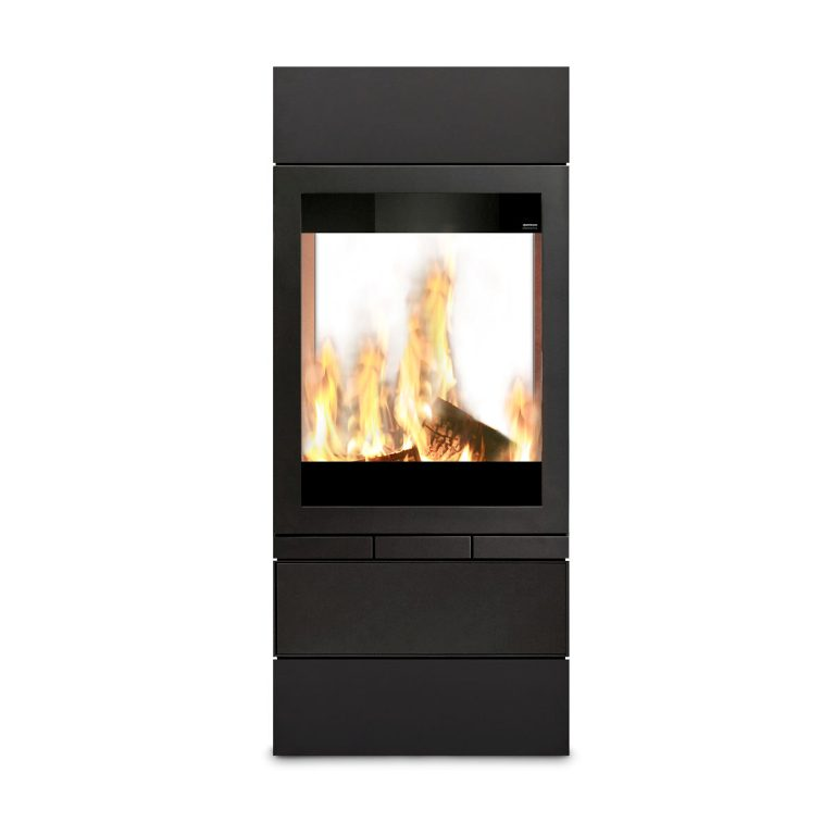 Skantherm Elements 600 Tunnel Wood Fireplace