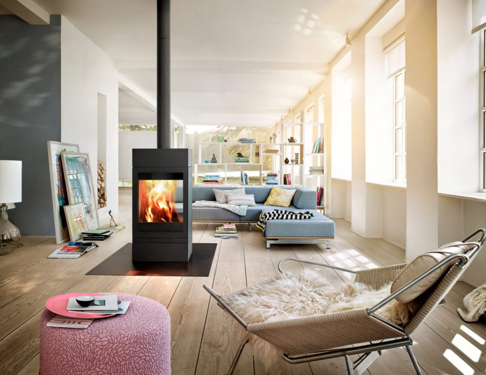 Skantherm Elements 600 Tunnel Wood Fireplaces