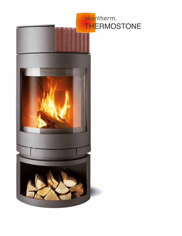 Skantherm Emotion Woodburning Fire Place