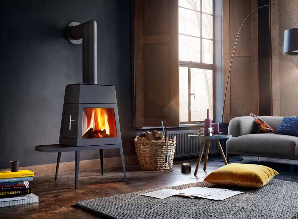 Skantherm Shaker Wood Fire Place