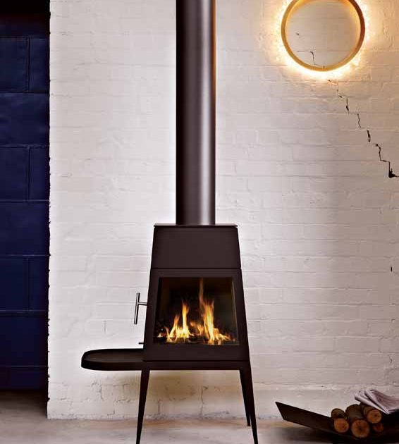 Skantherm Shaker Wood Fireplace