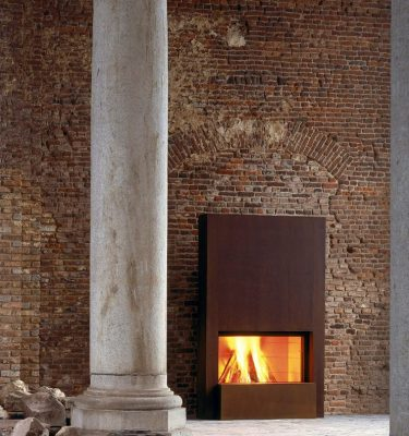 Stuv 21 Inbuilt Fireplace