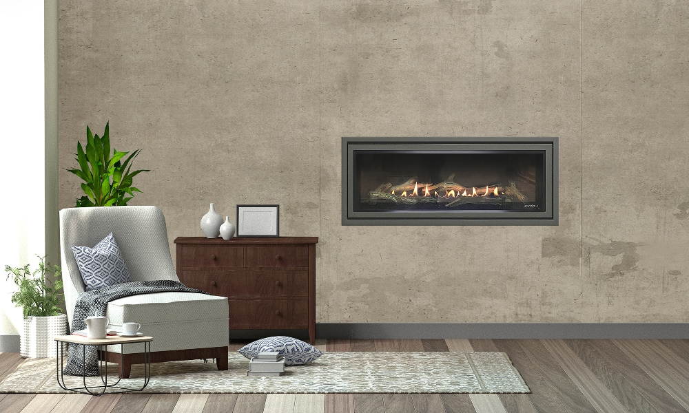 SLR-X balanced flue gas fireplace