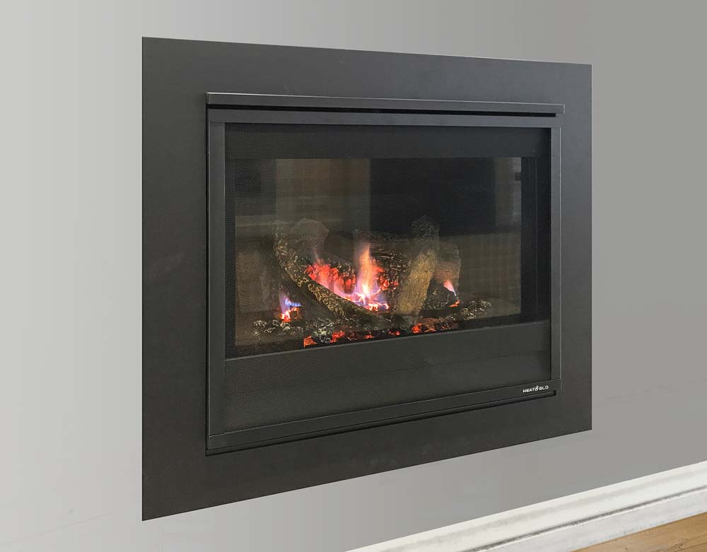 flue gas fireplace Heat & Glo 5X