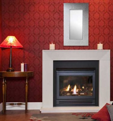 heat & glo 550 trsi gas log fire on sale