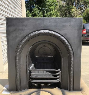 Second Hand Cast Iron Insert Fireplace Fascia