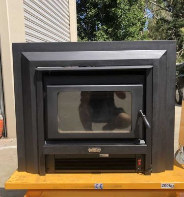 Second Hand Kemlan Super Nova Insert Wood Fire Melbourne