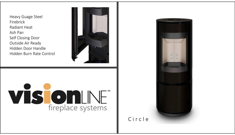 Visionline Circle & Spin Wood Fire