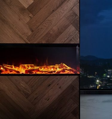 VisionLINE View Electric Fireplace