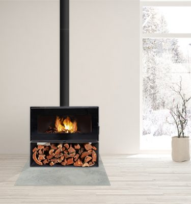 Visionline Taurus wood fire