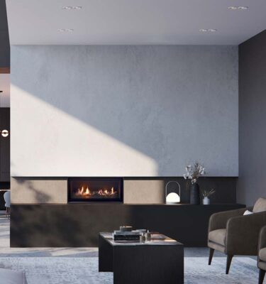 Real Flame Element 900 Compact Fireplace